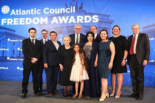 Atlantic Council Freedom Award 2018