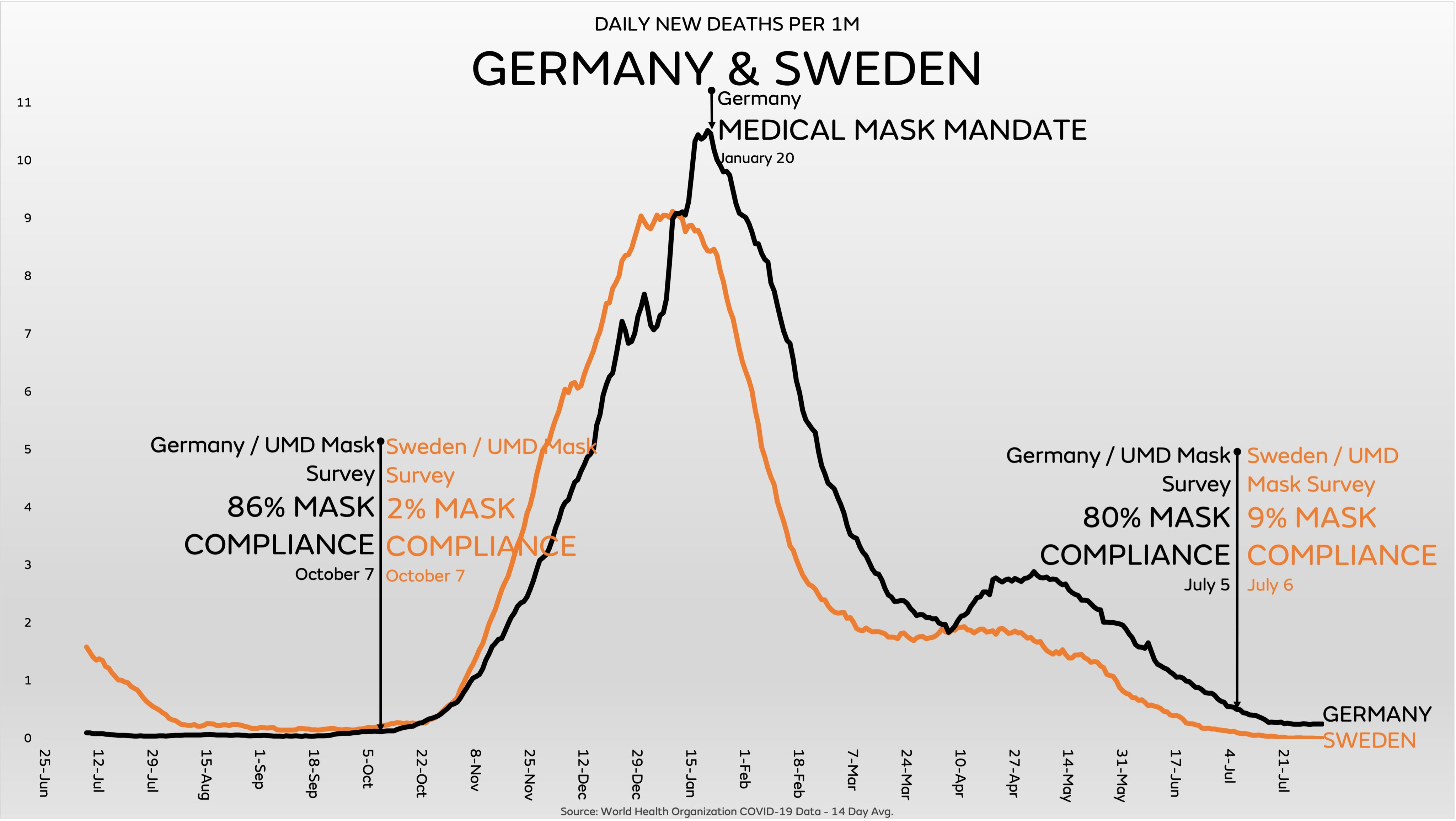 Are Face Masks Effective? The Evidence. Sweden-germany